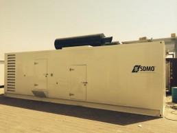 Containeraised Generator Canopy